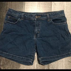 Girls size 14 jean shorts